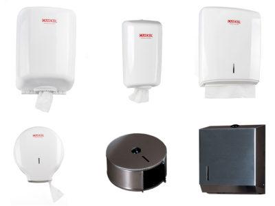Hand dryers, zig-zag tissues, hygienic, industrial