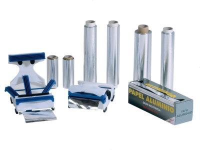 Papel aluminio industrial