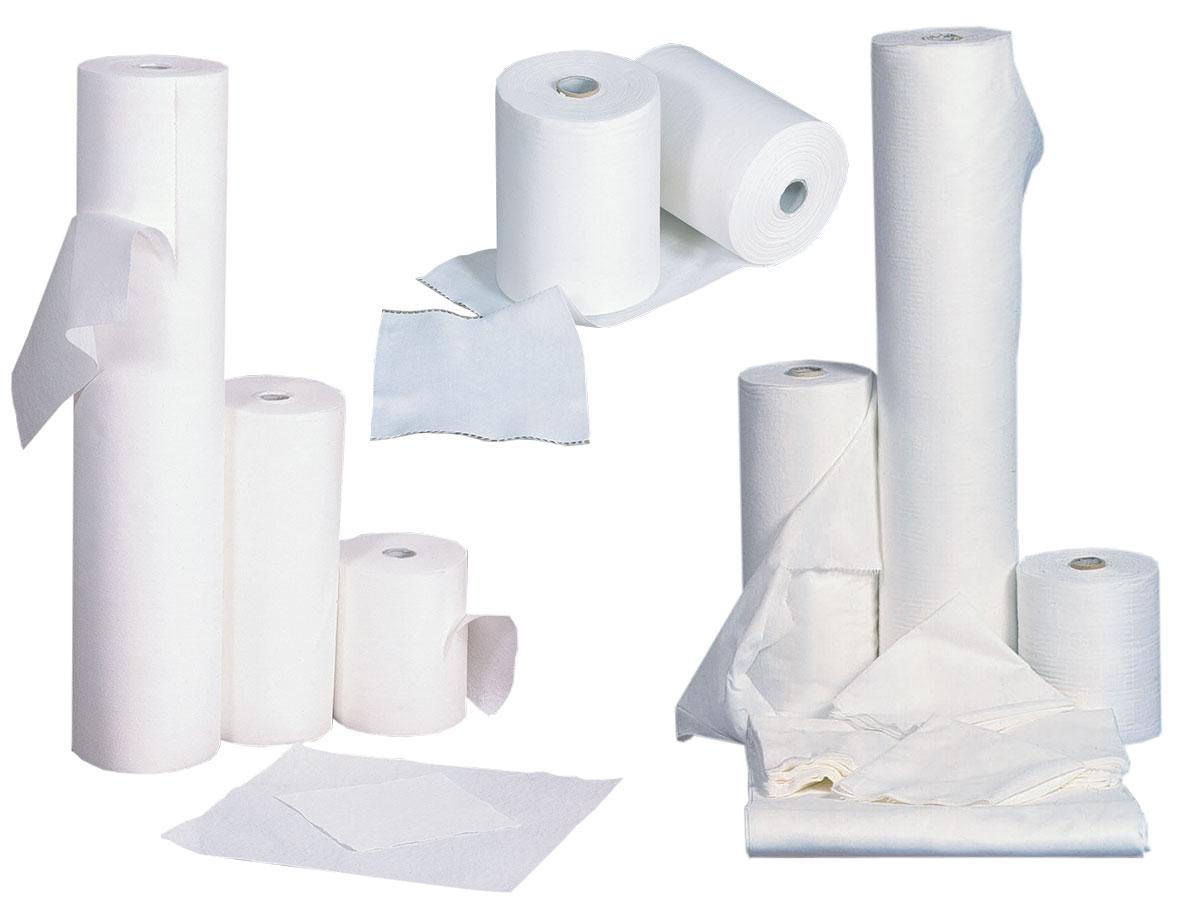 rollos papel toalla spun-laced